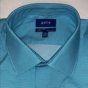 Apt. 9 Shirts - Apt 9 premier flex regular fit L NWT